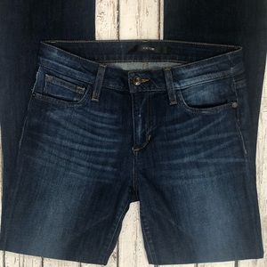 Joe's Jeans Mid Rise Slim Fit Boot Cut Jeans